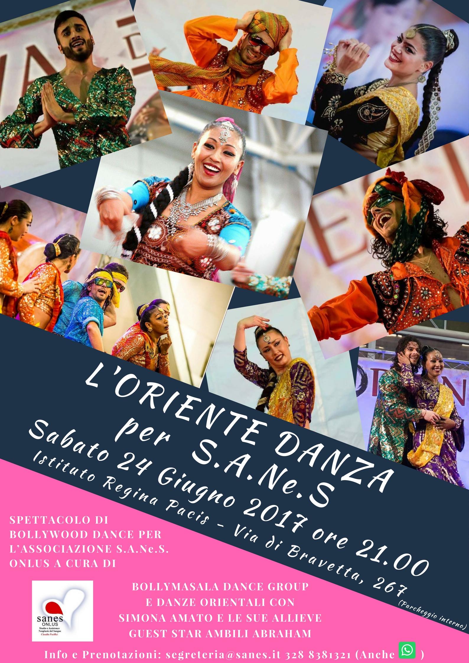 BOLLYWOOD DANCE! Dall'Oriente a Roma il ritmo passa per di